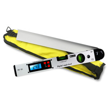Digital Goniometer Electronic Protractor 225 degree Angle Finder 400mm Level Measuring