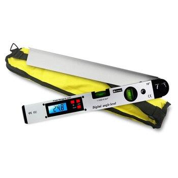 Digital Goniometer Electronic Protractor 225 degree Angle Finder 400mm Level Measuring Gauge Meter Inclinometer Ruler