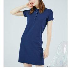 Женское платье поло с крокодиловой текстурой роскошные повседневные