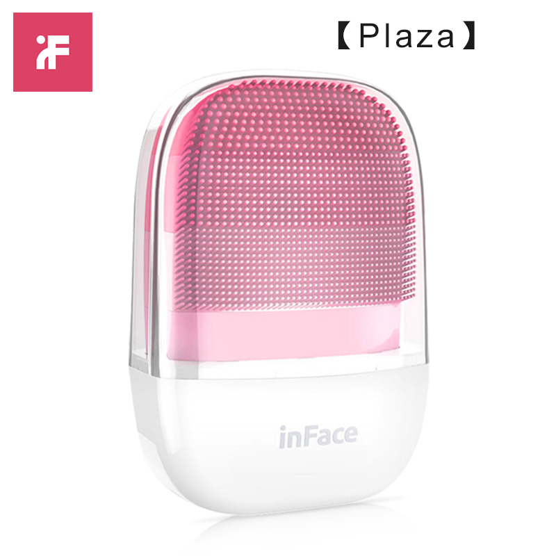 [Praça] 2019 Inface Faical Limpeza Brusher Eletrônico poderoso desempenho do Sonic Vibração Profunda cleaneing IPX7 terno à prova d' água f