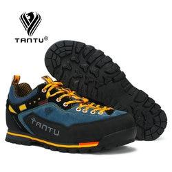 TANTU Waterproof Hiking Shoes Mountain Climbing Shoes Outdoor Hiking Boots Trekking Sport Sneakers Men Hunting Trekking