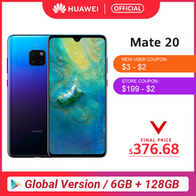 Global Version HUAWEI Mate 20 Smartphone 6GB 128GB 6.53 inch Mobile