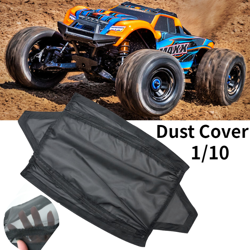 Waterproof Cover Protective Chassis Dirt Dust Resist Guard Cover For 1/10 Traxxas MAXX Rc Car Parts