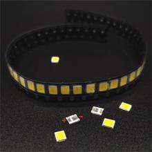 100 шт. SMD LED 2835 Белый Чип 0.5 Вт 3 В 150 мА 50-55LM Ультра Яркий SMT 0,5 Вт Ватт для поверхностного монтажа Печатная светодиодная светодиодная лампа