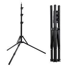Fosoto Stativ Light Stand & 1/4 Schraube tragbare Kopf Softbox Für Foto Studio Fotografische Beleuchtung Flash Regenschirme Reflektor
