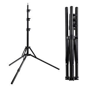 Image 1 - Fosoto Stativ Light Stand & 1/4 Schraube tragbare Kopf Softbox Für Foto Studio Fotografische Beleuchtung Flash Regenschirme Reflektor