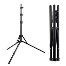 Fosoto Tripod Light Stand &1/4 Screw portable Head Softbox For Photo Studio Photographic Lighting Flash Umbrellas Reflector