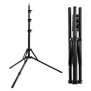 Image 1 - Fosoto Tripod Light Stand &1/4 Screw portable Head Softbox For Photo Studio Photographic Lighting Flash Umbrellas Reflector