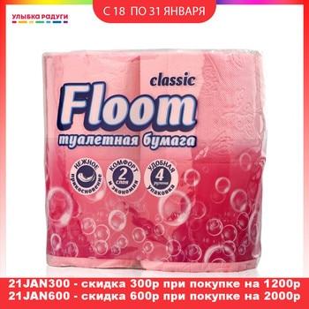 Toilet Tissue Floom 3070606 Улыбка радуги ulybka radugi r-ulybka smile rainbow косметика Beauty Health Sanitary Paper Toilet Tissue