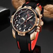 2020 LIGE nowe męskie zegarki Top luksusowa marka mężczyźni unikalny zegarek sportowy mężczyźni zegarek kwarcowy z datownikiem zegarek wodoodporny Relogio Masculino