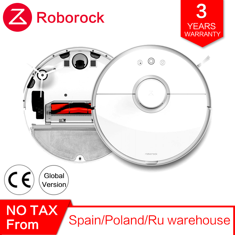 Roborock 2 s50 s55 Xiao mi Aspirador de pó Robô para Limpeza Do Tapete de Casa Inteligente Automático Varrendo Esfregar Molhado Robótico mi poeira