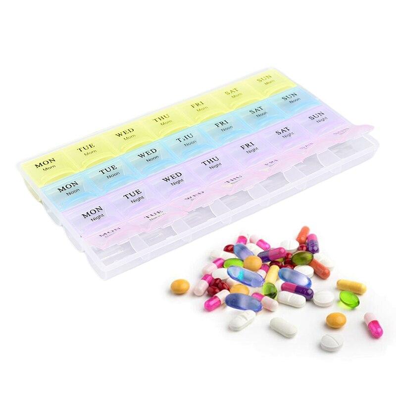 28 квадратов, ежедневный держатель для лекарств, коробка для таблеток, ежемесячный органайзер, Диспенсер, контейнер для хранения лекарств, ч...