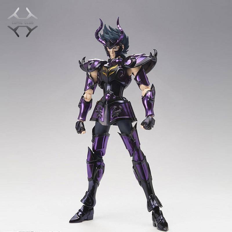 COMIC CLUB N-STOCK Chuanshen Cs Saint Seiya Specters Gold Saint EX Capricorn Shura Action Figure Cloth Myth Metal Armor