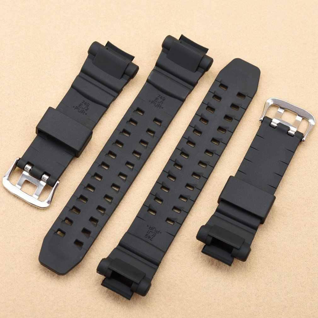 Tipe Shock Sprot Watch Gelang Sabuk Gesper Pembuluh Darah Watchband Asli Kulit Sapi Kulit Band Aksesoris Gelang