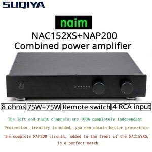 Image 1 - Suqiya 新しいベースに naim NAC152 プリアンプ & NAP200 複合アンプ 75 ワット + 75 ワット 8 オーム 4 ウェイ rca 入力リモートコントロールバージョン