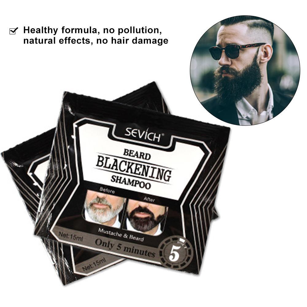 Beard Blackening Shampoo
