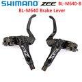 Shimano ZEE BL M640 тормозной рычаг гидравлический дисковый тормозной рычаг MTB Shimano оригинальная коробка-Упакованные Левые/правые детали для горног...