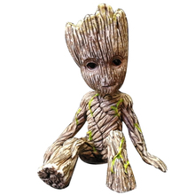 Mini Marvel Super Hero Tree Man Groot Action Figure The Avengers Model PVC Collectible Doll for Children Toy Xmas Gift 6CM marvel black panther pvc toy figure model super hero play arts 27cm marvel avengers action figure model toy dolls kids gift