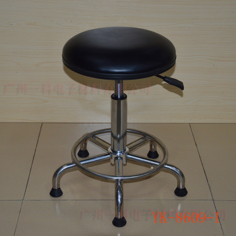 Anti-static Industrial Chair/for 304 Stainless Steel Stool Chair/Stainless Steel Height Adjustable Round Stool/Laboratory Chair