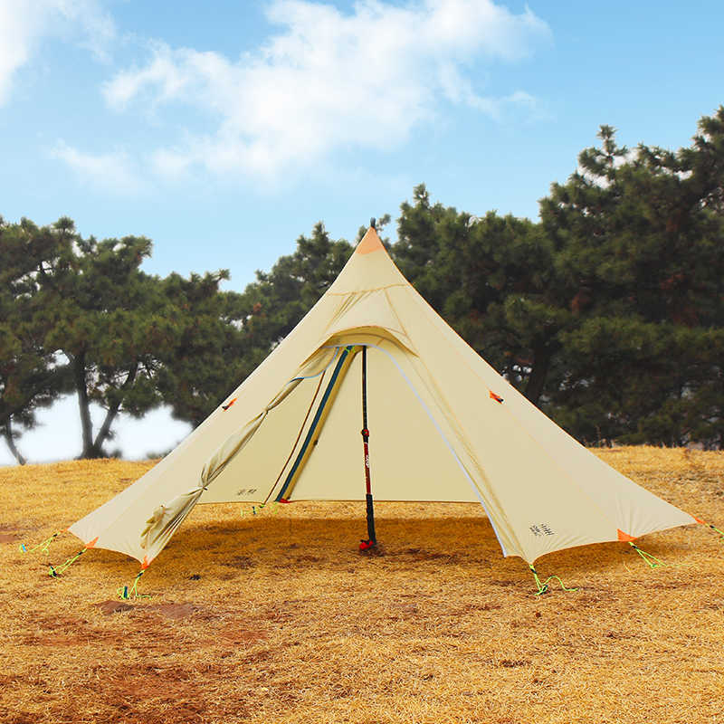 ASTAGEAR firstsnow ul piramida namiot 2 osoba wodoodporna tipi shleter na camping piesze wycieczki