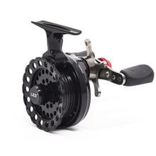 LEO DWS60 4+ 1BB 2,6: 1 65 мм катушка для ловли нахлыстом с высокой ногой Рыболовные Катушки Рыболовные катушки колеса