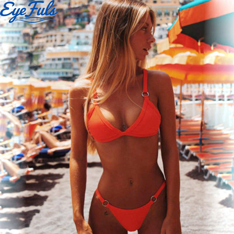 Summer Sexy Swimwear Women Maillot De Bain Femme Women's Swimsuit Low Waist Brazilian Bikinis 2020 Mujer