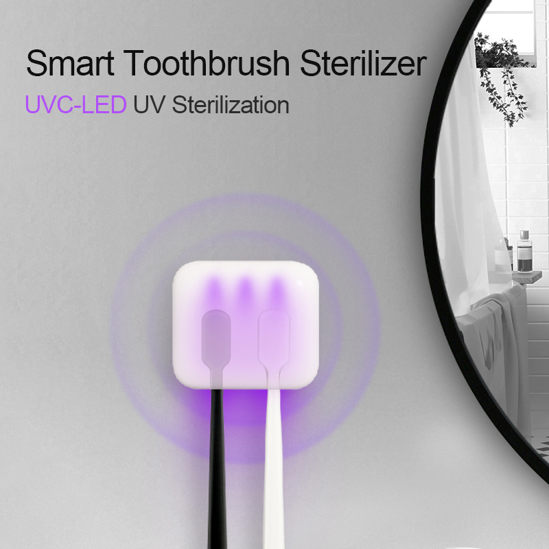UVC-LED Deep UV Toothbrush Sterilizer Toothbrush Holder Sterilizer Smart Toothbrush Sterilizer Bathroom Supplies Hot Sale image