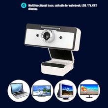 HD веб-камера с микрофоном шумоподавления для ноутбука настольного компьютера-конференций VH99