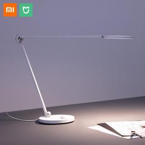 Image 1 - מקורי Xiaomi Mijia חכם LED שולחן מנורת פרו Bluetooth Wifi APP קול שלט רחוק מנורת שולחן עבודה עם אפל HomeKit 240V