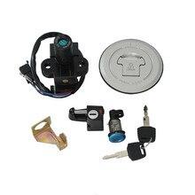 Motorcycle Ignition Switch Lock Fuel Gas Cap Key Set For Honda CBR250 MC19 MC22 CBR400 NC23 NC29 VFR400 NC30 RVF400 NC35