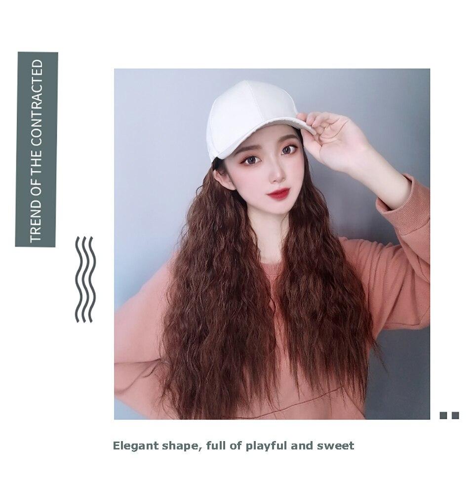 com extensão natural do cabelo falso peruca