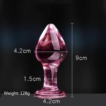 Classic glass anal plug