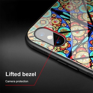 Image 3 - الزجاج المقسى حقيبة لهاتف أي فون iPhone XS Max ماكس X XS XR Nillkin الفاخرة دريم لاند تألق حامي الغطاء الخلفي ل فون XS ماكس حالة