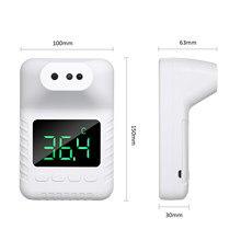 Não-contato termômetro infravermelho testa thermometerhigh temperatura campainha alarme pendurado na parede ou suporte tripé