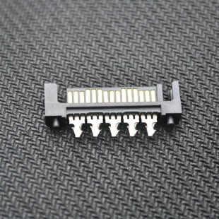 10 sztuk/partia 15pin SATA męski wtyk lutowniczy gniazdo jack złącze PC komputer MOD DIY