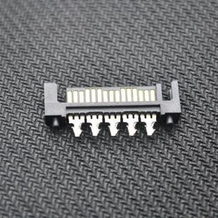10pcs/lot 15pin SATA Male Soldering Plug Socket Jack Connector PC Computer MOD DIY