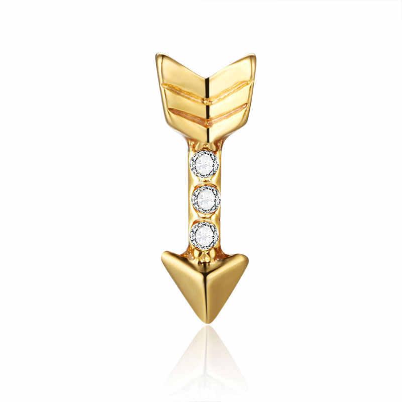 20 Chiếc Vàng Mũi Tên Tình Yêu Pha Lê Trọng Âm Nổi Quyến Rũ Cho Kính Mề Đay