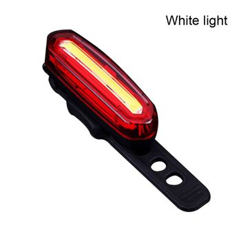 Bike Taillight Waterproof Riding Rear Light Usb Charging Cycling Warning Light Bicycle LED Tail-lamp Indicator usb charging led bicycle light 5 light mode highlight waterproof warning bike light to send free usb cable suit for night riding