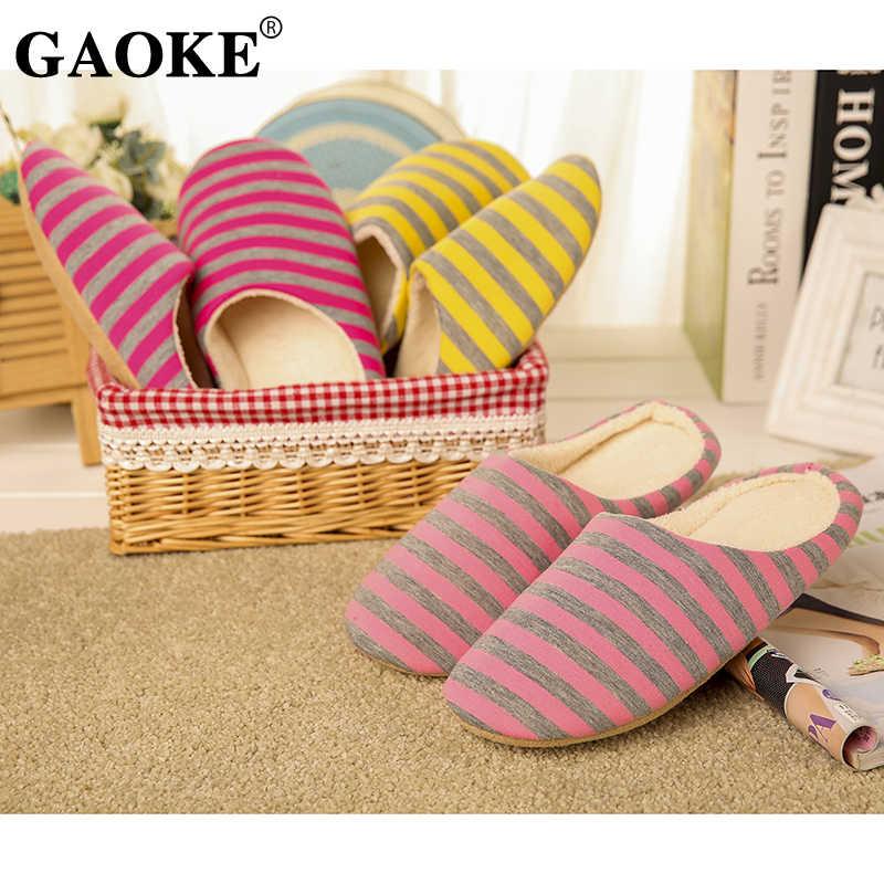 2020 schuhe Slipper Mode Winter Frauen Baumwolle Plüsch Warme Slipers Einfarbig Unisex Hause Boden Weiche Hausschuhe Schuhe Frauen Schuhe