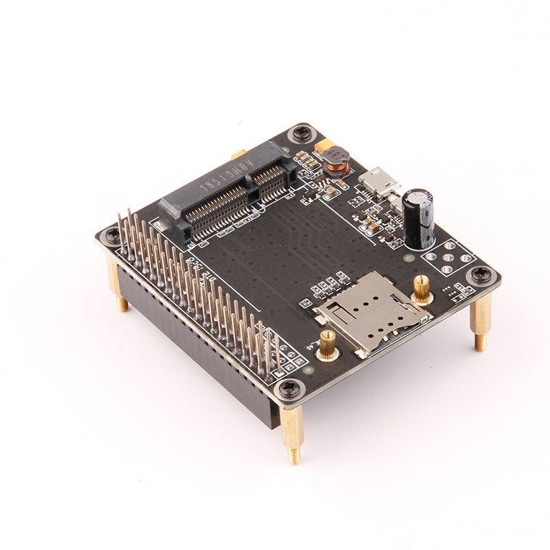 CHANEVE Raspberry Pi 3B4B Expansion Adapter Board 3G/4G&LTE Base Shield For Raspberry Pi 4G Module