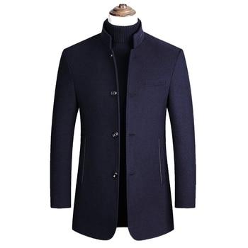 Winter Mens Woolen Overcoat, Overcoat Coats and Jackets  Men Coat Cashmere