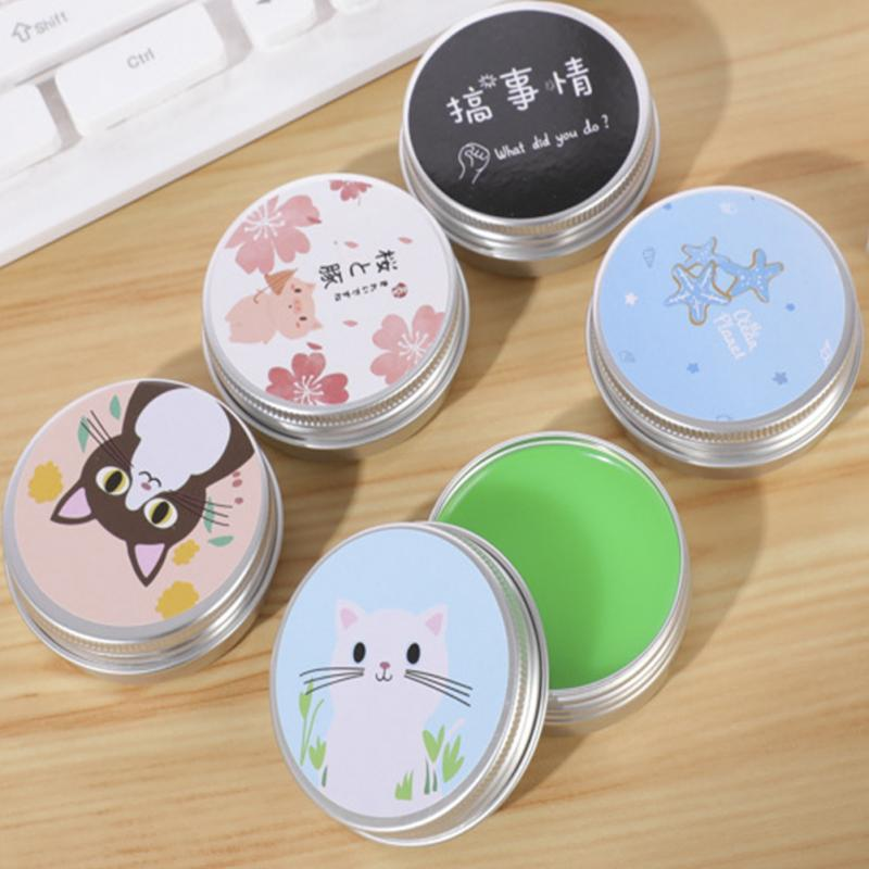 Charm Round Long-lasting Women Men Non-alcoholic Portable Essential Oil Fragrance Body Moist Solid Perfume Solid Deodorant