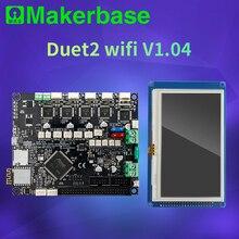 Makerbase 32 비트 복제 duet 2 wifi V1.04 제어 보드 Duex5 V0.9a 3d 프린터 부품 용 4.3 또는 7.0 Pandue 터치 스크린
