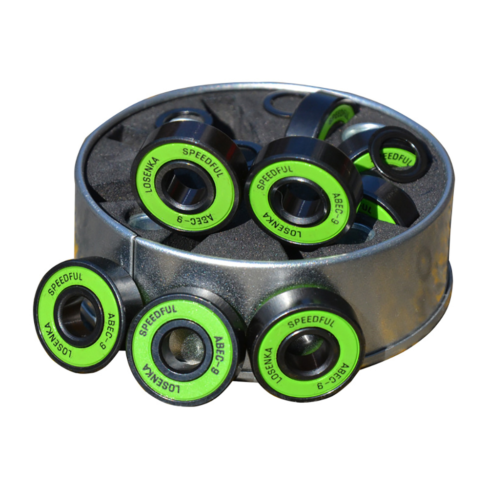 1 Set Advanced Skateboard Speed Chrome Steel Bearing ABEC-9 Small Fish Board Banana Board Long Board Bearing Speed Set
