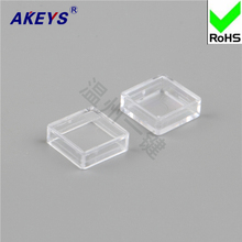10pcs  A14 key cap dust proof transparent can be equipped with 12 * 7.3 keys