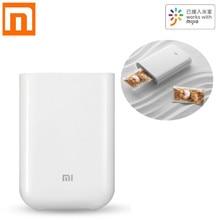 Xiaomi Pocket Photo Printer Ai Smart Printer 300Dpi Mini Draagbare Ar Foto Print Bluetooth Foto Afdrukken Werken Met Mijia app