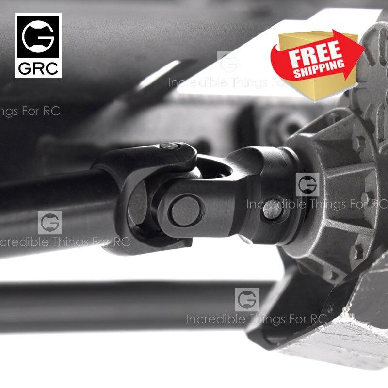 GRC G2 Heavy Duty CVD Universal Draft Shaft Axial SCX10 RC4WD TF2 D90 VP-VS4 RED CAT RC Model Car Upgrade Parts