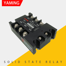 цена на JGX-3J 4810Z Three-phase Solid State Relay 10A 40-480V AC Control AC Six Terminals Normally Open
