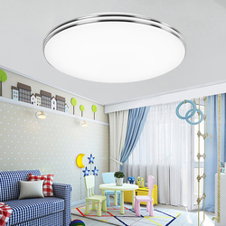 Plafonnier circulaire ultramince au Design moderne, éclairage d'intérieur, luminaire de plafond, idéal pour un salon, une chambre à coucher ou une cuisine, modèle LED