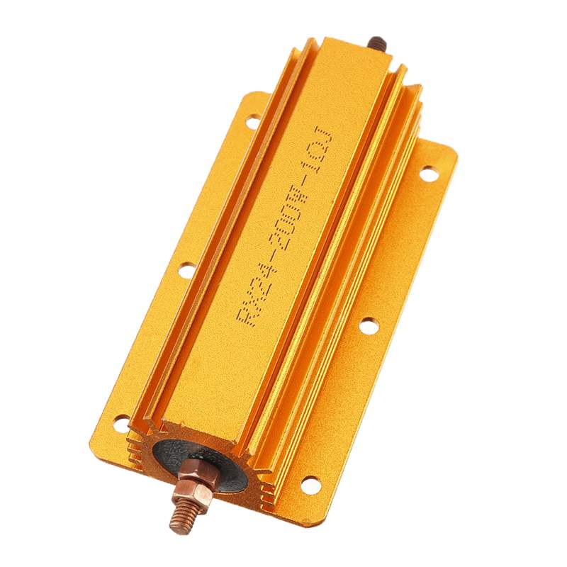 RX24 200W 1R Resistor Gold Aluminum Resistor for Powered Supply Sensor Stage Audio